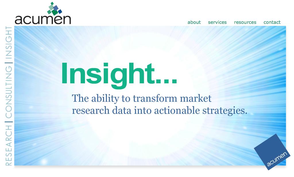 Acumen Insights